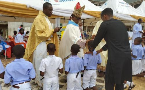 Archbishop During His Pastoral Visit at St. Joseph's Seminary & Special Science Sch., Awka-Etiti_1