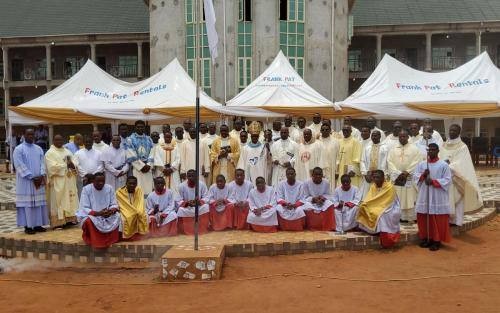 Archbishop During His Pastoral Visit at St. Joseph's Seminary & Special Science Sch., Awka-Etiti_2